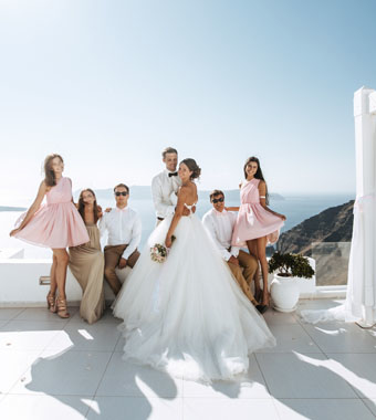 greece-santorini-wedding-package-for-ten-persons